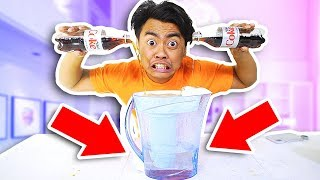 INSTANTLY TRANSFORM COKE INTO WATER!