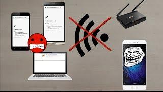 Bloquear Conexión Internet a dispositivos en mi red Wifi Root