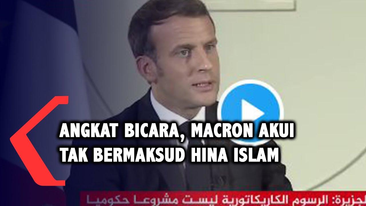 Klarifikasi Pakai Bahasa Arab, Macron Sebut Dirinya Tidak Bermaksud Hina Islam, Usai Dapat Kecaman