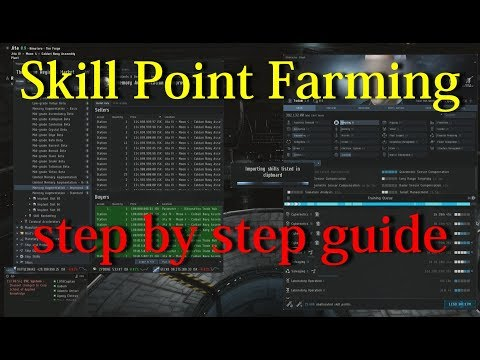 Skill Point Farming - Step By Step Guide - EVE Online
