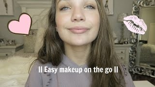 easy summer makeup look