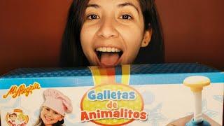 ASMR En Español - Haciendo Galletas De Animalitos 🐘🐱💛