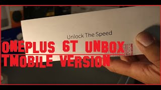 Unboxing OnePlus 6T from TMobile the iPhone killer!