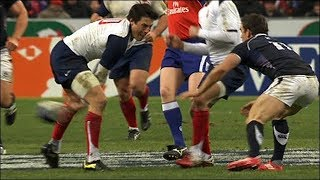 the through the legs pass rugby montage