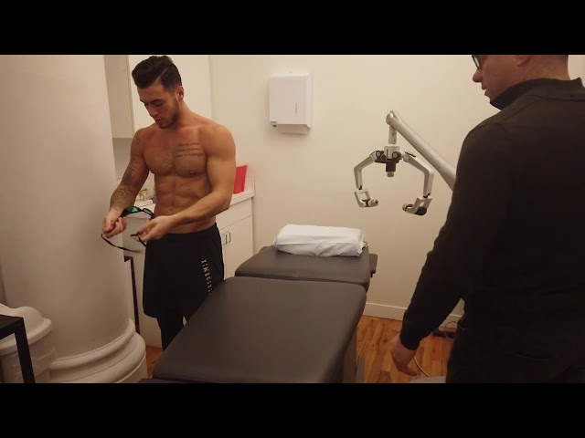 Cold laser therapy with FX635