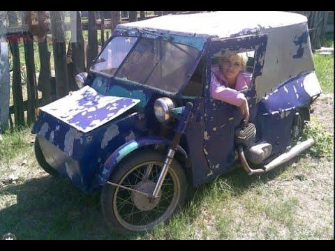 Во что мужик превратил 2 старых мотоцикла - ШИКАРНЫЙ ...