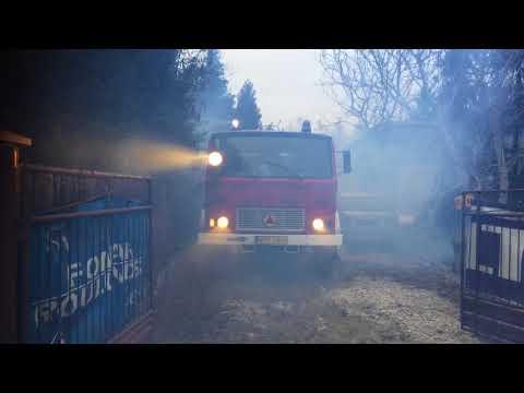 Odpalanie 43 letniego Jelcza z OSP po 3 miesiącach postoju. -5 C |#NSBR