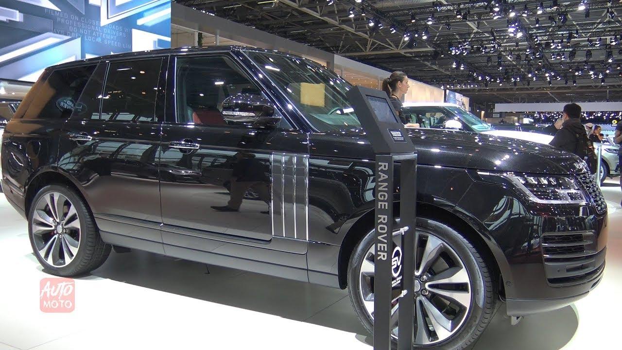 2019 Range Rover Sv Autobiography 565hp Exterior And Interior Walkaround 2018 Paris Motor Show