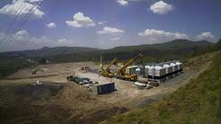 Construction timelapse of 5 MW geothermal plant, Kenya
