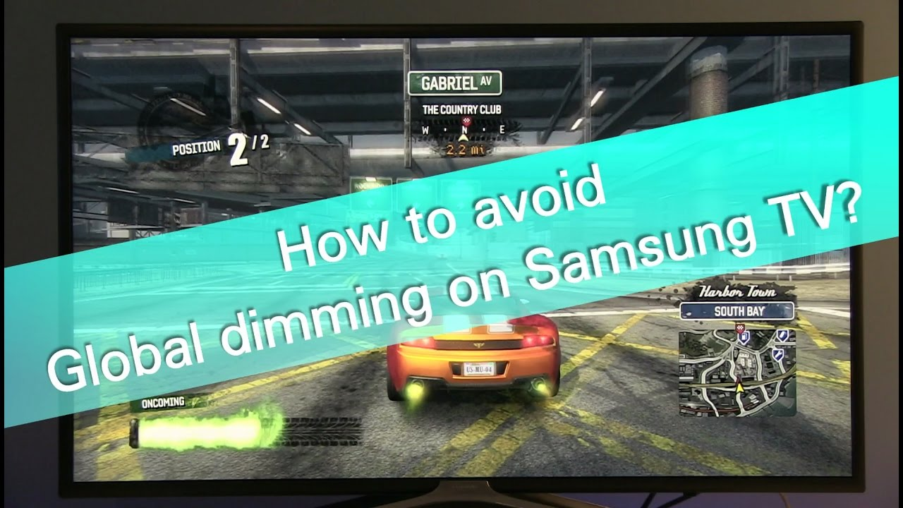 How To Avoid Global Dimming On Samsung Tvs 49ks7000 Smart Tv Led Suhd4k49 Inch
