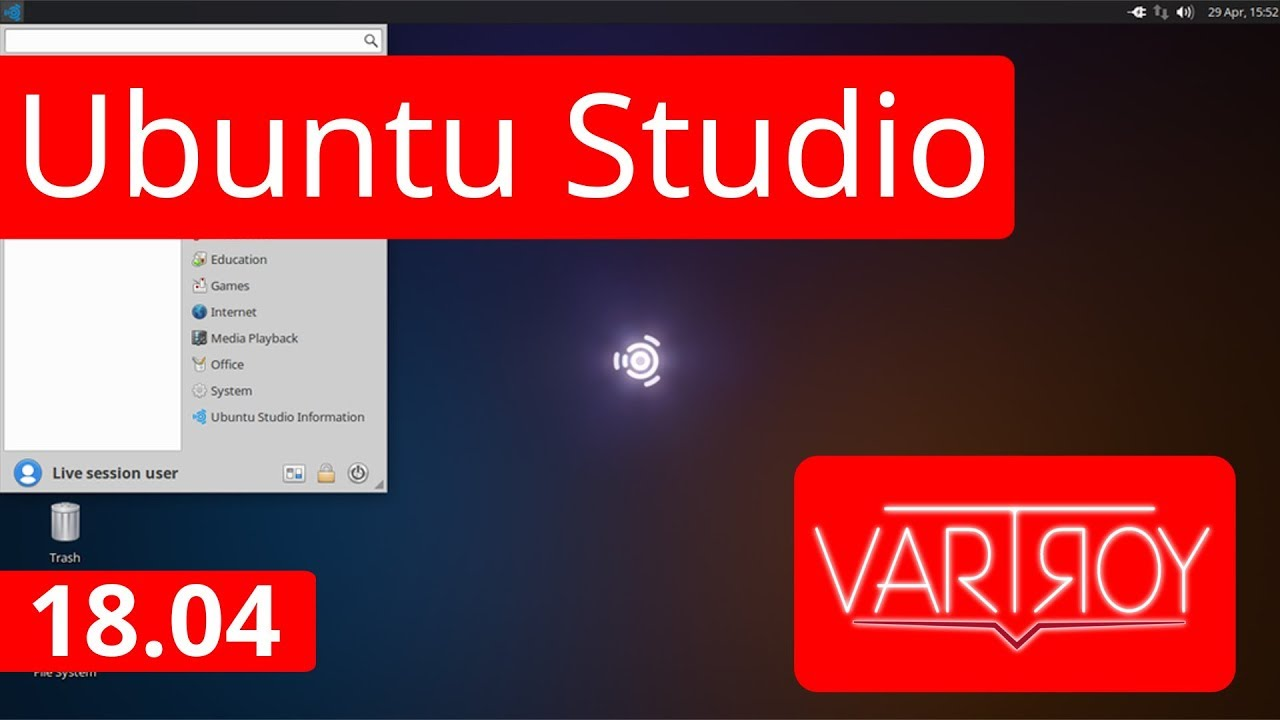 Ubuntu Studio 18.04 (beta) - Análise! - YouTube