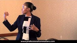 Leadership Training - Team Motivation and Goal Setting (Corporate Trainer Dana Brownlee)