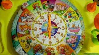 Развивающее пособие для детей с картинками.Учим времена года,месяцы,часы, распорядок дня(, 2015-11-23T07:26:01.000Z)