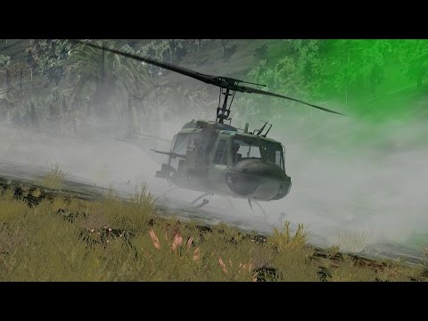 DCS: UH-1H Huey - Just another day in Nam! (CONTROLS INDICATOR!)