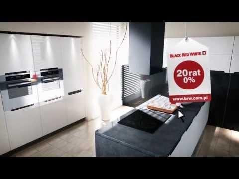 Meble Kuchenne Kolekcja Mebli Black Red White Youtube