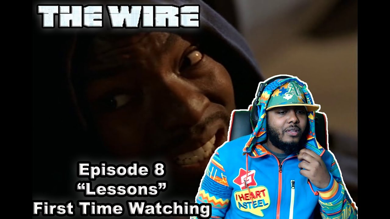 """Download The Wire episode 8 Reaction """"Lessons"""" First Time Watching"""