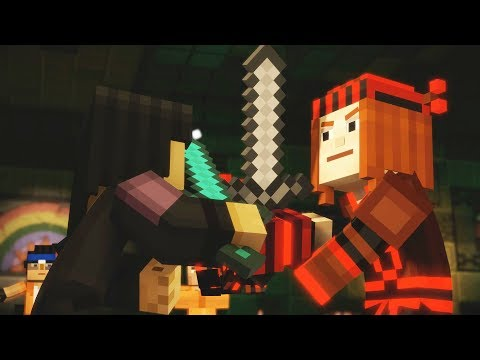 Minecraft Story Mode Season 2 Episode 3 Jack/Petra Fight
