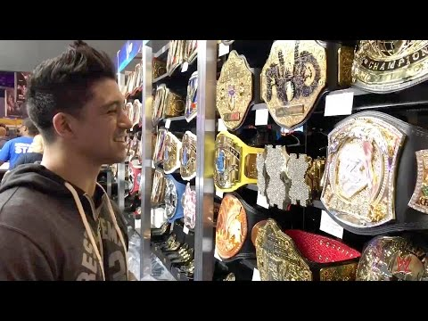 Thumbnail: Check out the WrestleMania Superstore with TJ Perkins