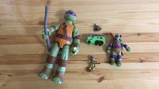 Черепашки ниндзя. Игрушки TMNT Toys Teenage Mutant Ninja Turtles. Обзор Черепашек Ниндзя Донателло