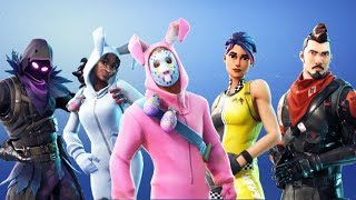 "Leaked New Fortnite Outfits! ""Midnight Ops, Raven, Rabbit Raider, Bunny Brawler"" New Emotes!"