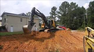 New Volvo 220E Excavator Digging