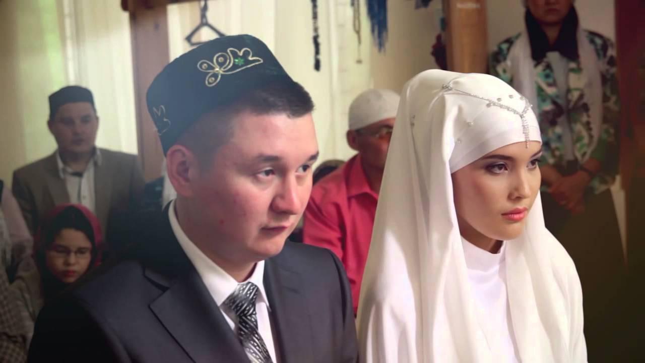 Рашид и Идия. Никах в мечети Исмагила