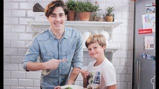 Bruno przesłuchuje Matteo! Jaki jest jego ulubiony owoc? :) [Mali Szefowie]