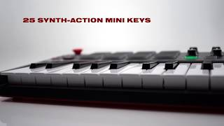 The All-New Akai Professional MPK mini (new version) Compact Keyboard & Pad Controller