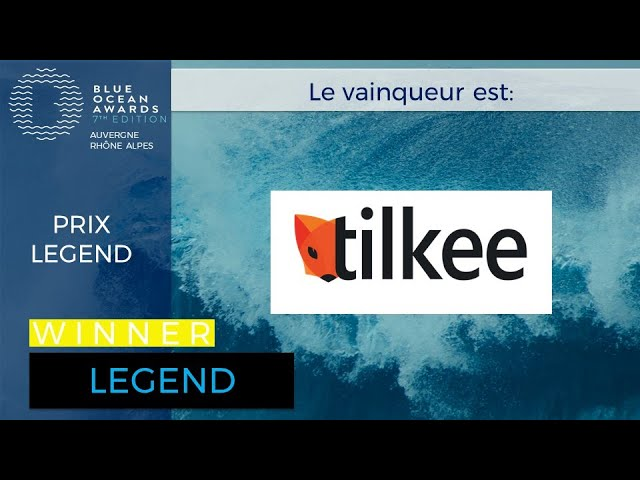 TILKEE, gagnant Prix LEGEND BOA7 Lyon