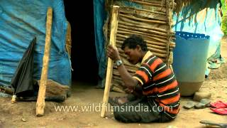 Smoothening The Wood: Tribal Daily Life In South India