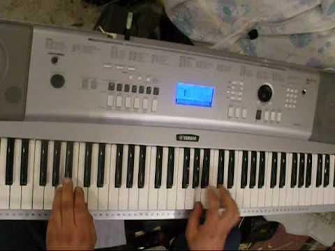 Techno, Dance played on keyboard