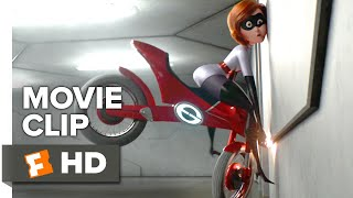 Incredibles 2 Movie Clip - Elasticycle (2018) | Movieclips Coming Soon