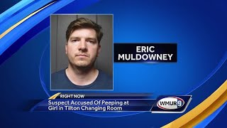 Man accused of spying on girl in dressing room