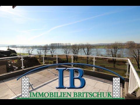 Schöne Wohnung mit Rheinblick in Engers