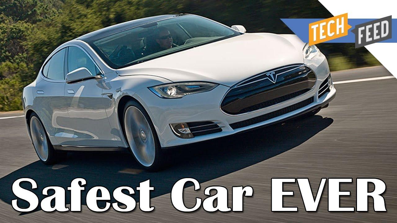 Tesla Model S - SAFEST CAR EVER MADE! - YouTube