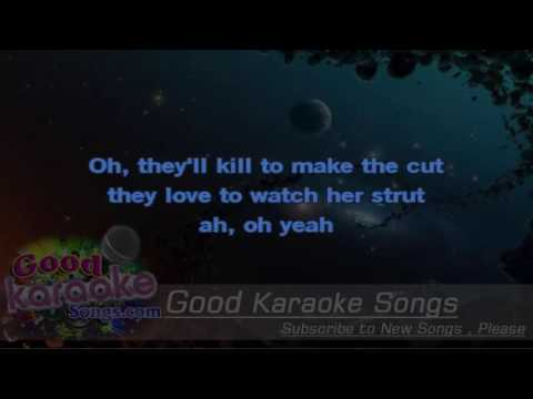Her Strut -  Bob Seger (Lyrics Karaoke) [ goodkaraokesongs.com ]