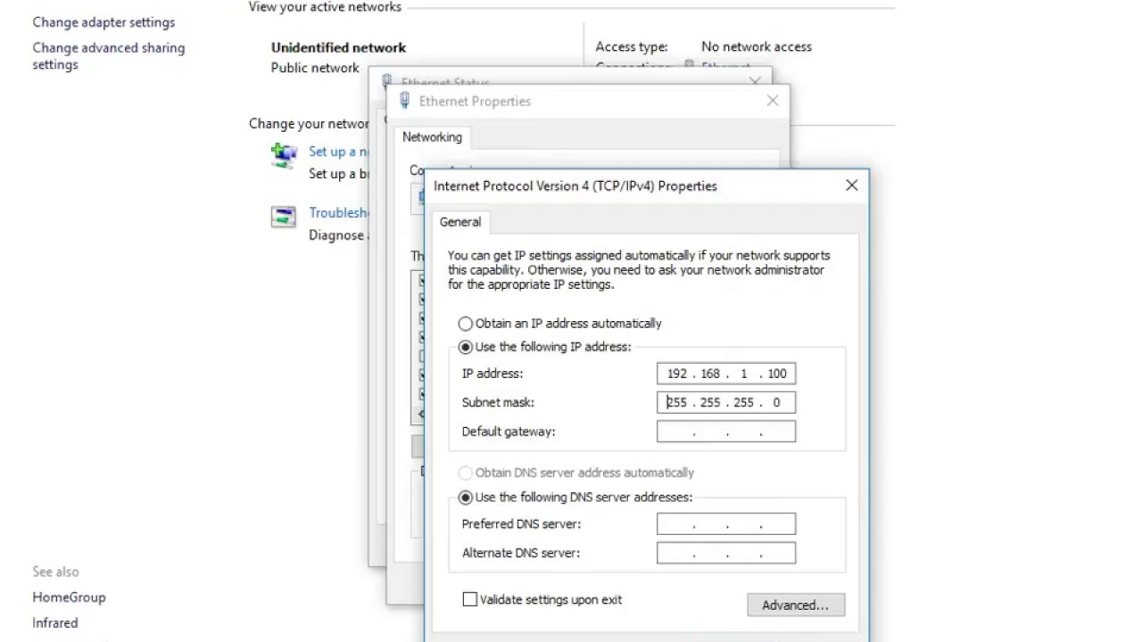 How to solve ip address in opening the tp link 5210 page
