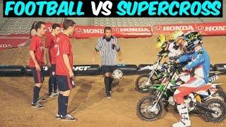 Football vs Supercross