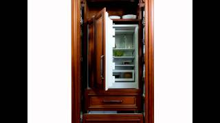 Refrigerator Appliance Panel