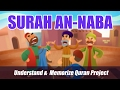 Surah An Naba English Understand Memorize Quran Project illustrated
