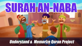 Surah An-Naba | English | Understand & Memorize Quran Project | illustrated