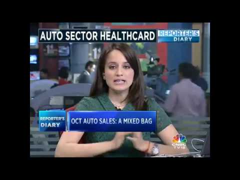 AUTO SECTOR HEALTHCARD. OCT AUTO SALES: A MIXED BAG