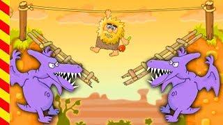Интересная игра для детей Адам и Ева. Игровой мультик про веселого Адама для мальчиков