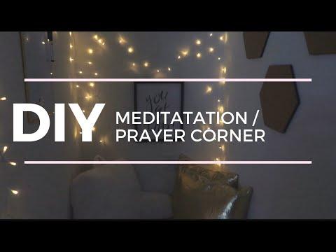 DIY MEDITATION / PRAYER CORNER | Self-Care Sunday