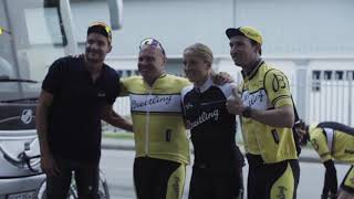 Breitling Triathlon Squad supports Qhubeka at Coronation Double Century