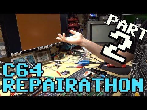 C64 Repairathon! Part 2 -