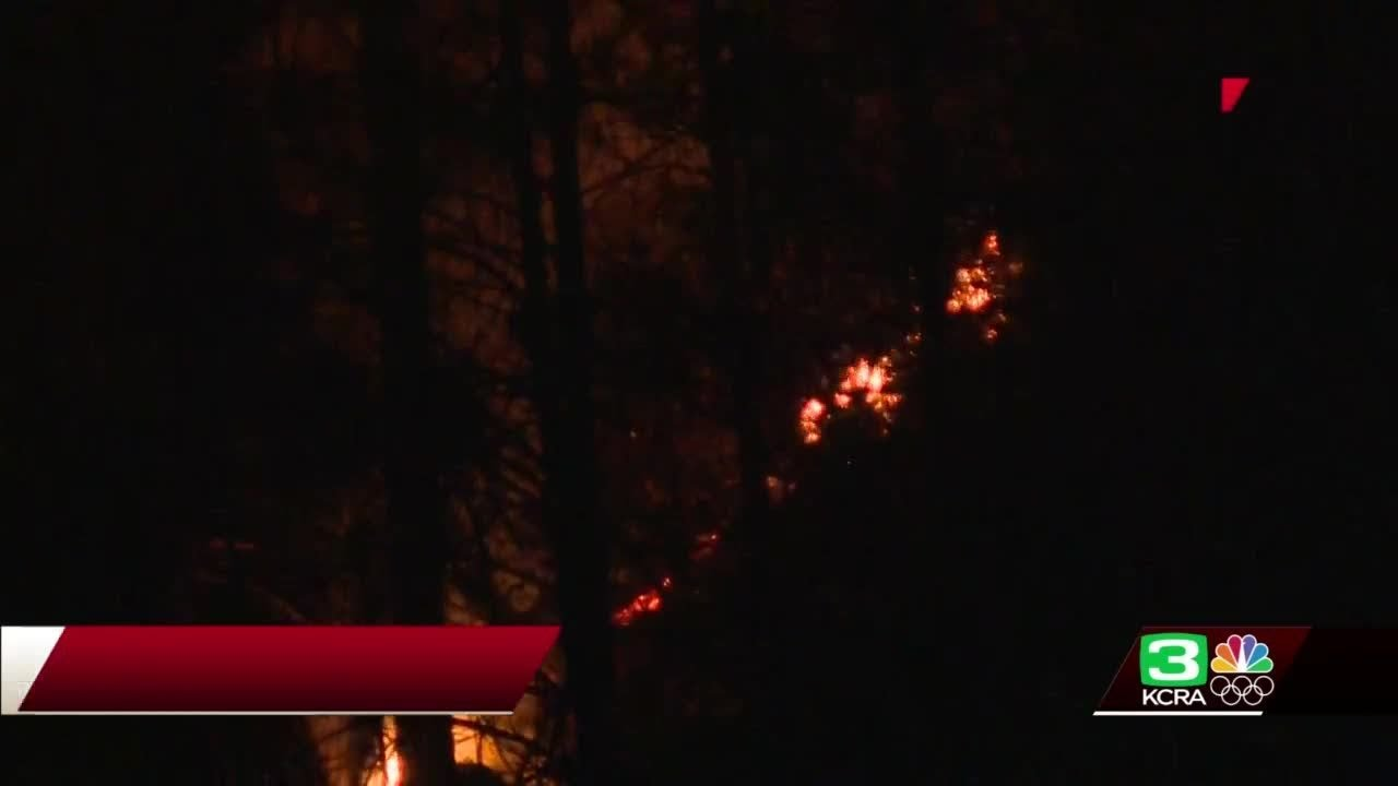 300-acre Bridge Fire in Auburn 5% contained; one firefighter injured