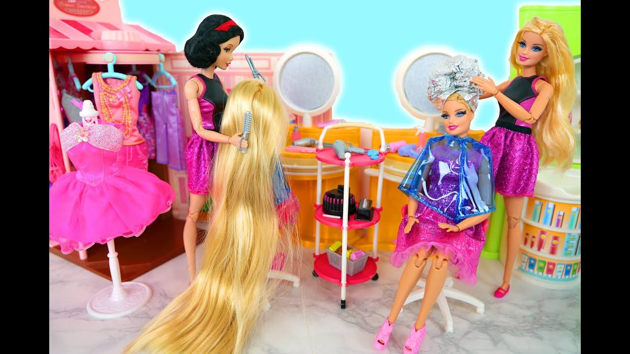 Barbie Friseur