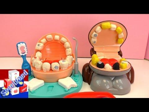 Play Doh Dr. Wiebeltand vs. Play Go apentandarts – kleispeelgoed vergelijking