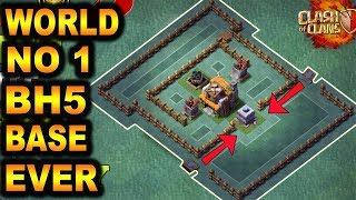 BEST Builder Hall 5 Base (BH5) + Defense Replay / BH5 Base Layout   Clash of Clans